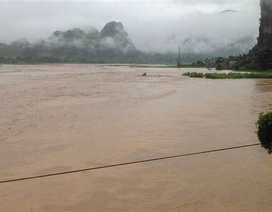 Miền Bắc mưa to trên diện rộng, lũ các sông liên tục dâng cao