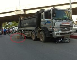Hà Nội: Va chạm với xe ben, người đi xe máy tử vong tại chỗ