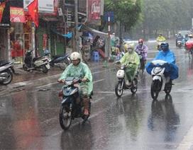 Miền Bắc tiếp tục mưa giông trong 3 ngày tới