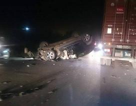 Xế sang BMW X5 gây tai nạn bỏ chạy, tông tiếp xe CSGT