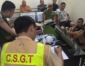 Hà Nội: Cảnh sát 141 tóm gọn 8 thanh niên mang mắm tôm đi đòi nợ