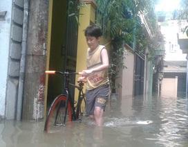 Con ngõ hễ mưa là ngập ở Hà Nội: Dừng thi công dự án, làm cống mới cho dân