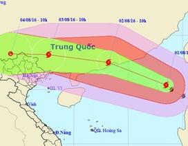 Trưa mai bão số 2 vào đất liền Trung Quốc