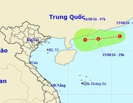 Vùng áp thấp trên Biển Đông có khả năng mạnh lên thành bão