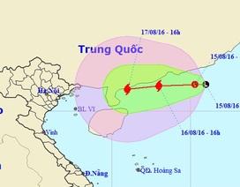 Sắp có bão trên Biển Đông