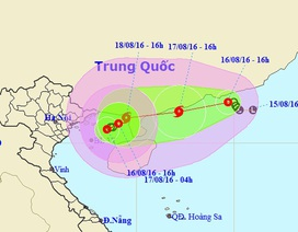 """Áp thấp nhiệt đới """"kép"""" đang gây gió mạnh trên Biển Đông"""