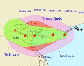 Bão số 3 sẽ ảnh hưởng đến các tỉnh Quảng Ninh - Nghệ An