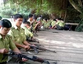 Chi cục Kiểm lâm Yên Bái được trang bị 55 khẩu súng K59