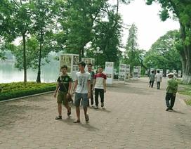 """Người dân khu vực hồ Gươm mong muốn đổi """"lịch"""" phố đi bộ"""