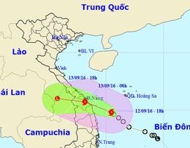 Áp thấp nhiệt đới đã mạnh lên thành bão