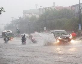 Đêm 20/9, các tỉnh Nghệ An đến Quảng Ngãi có mưa rất to