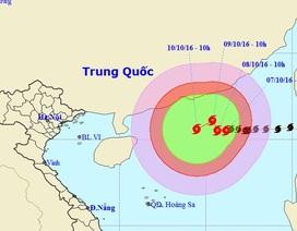 Bão số 6 di chuyển phức tạp, Biển Đông có gió giật mạnh