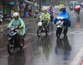 Trung tâm Hà Nội sắp xuất hiện mưa rào và giông