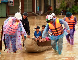 Chủ động đối phó với mưa lũ và áp thấp nhiệt đới