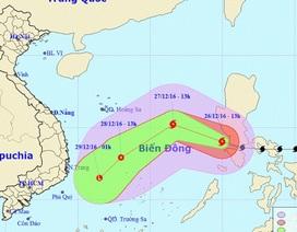 Bão Nock-ten giật cấp 15 đã vào Biển Đông