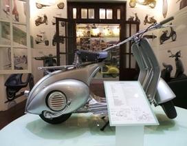 Ngắm chiếc Vespa cổ giá hơn 1 tỷ đồng tại Hà Nội