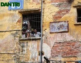 """""""Thi gan với tử thần"""" tại khu chung cư dọa sập giữa Hà Nội"""