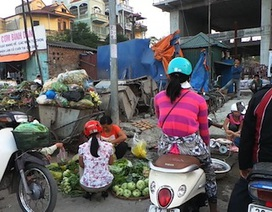 Hà Nội nhếch nhác vì chợ cóc!