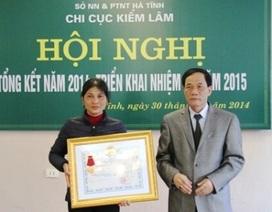 Truy tặng Huân chương Dũng cảm cho kiểm lâm tử vong vì cứu rừng