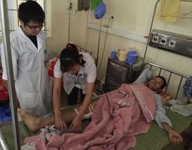Nối thành công tĩnh mạch khoeo chân cho một lao động Trung Quốc