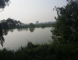 Người tử vong dưới sông, xe đạp khóa trên bờ