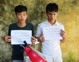 Thiếu tiền trả nợ, hai thanh niên dùng dao đi cướp