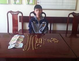 Trộm 62 chỉ vàng vì muốn mua... điện thoại di động