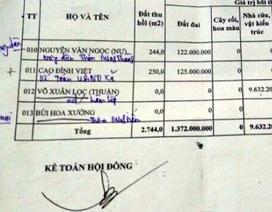 Xã lập hồ sơ khống, rút tiền của nhà nước để... trả nợ cho dân