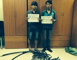 Bắt quả tang nhiều đối tượng trộm cắp tại công trường Formosa