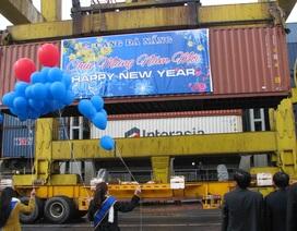 Đà Nẵng công bố tấn hàng thứ 6 triệu qua cảng trong năm 2014