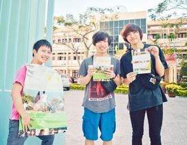 Sinh viên Việt - Nhật hợp tác làm phim