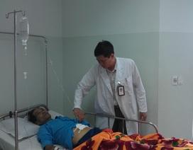Cứu sống kịp thời bệnh nhân bị vỡ u gan