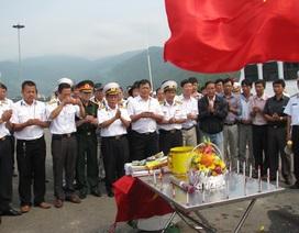 Tưởng niệm các chiến sĩ đã hy sinh tại đảo Gạc Ma