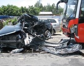 Xe khách gây hoạ chạy tới 85km/h thời điểm xảy ra tai nạn