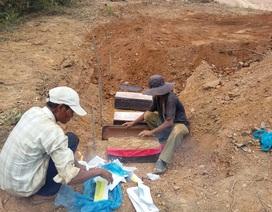"""Vụ san ủi mặt bằng khiến nhiều ngôi mộ """"biến mất"""": Đình chỉ thi công"""