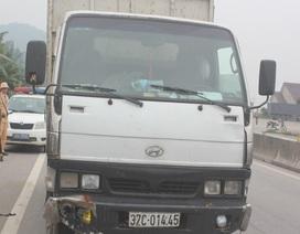 Truy đuổi chiếc xe tải gây tai nạn, bỏ chạy hơn 10km