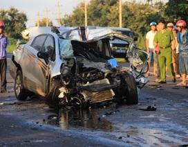Xe 4 chỗ tông xe tải, 2 CSGT tử vong