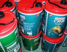 Bắt đối tượng vận chuyển 400 lít dầu nhớt giả