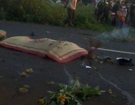 Thiếu nữ chết thảm dưới bánh xe bồn