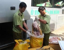 Gần 1 tấn thịt thối lên đường tới... bàn nhậu