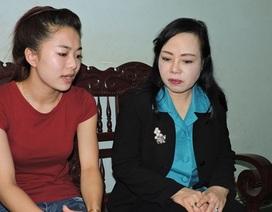 Vụ nữ sinh bị cưa chân: Sẽ rút đơn tố cáo nếu lời hứa của Bộ trưởng được ghi thành văn bản