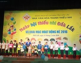 Hàng nghìn trẻ em nghèo tại Đắk Lắk được vui Tết thiếu nhi