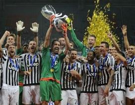Tân binh rực sáng, Juventus lần thứ 7 đoạt siêu cúp Italia