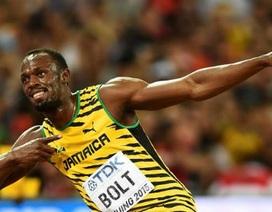 Usain Bolt vô địch 100m ở giải điền kinh thế giới đầy nghẹt thở