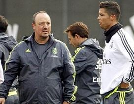C.Ronaldo và Rafa Benitez không thèm nhìn mặt nhau