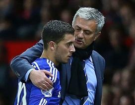 Mourinho phũ phàng với Eden Hazard