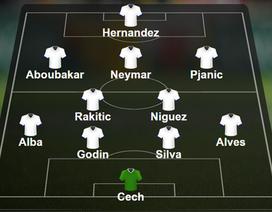 Đội hình tiêu biểu lượt đấu thứ 3 vòng bảng Champions League