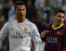 """Messi: """"Tôi chẳng hề cạnh tranh với C.Ronaldo"""""""
