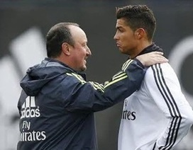"Bất mãn, C.Ronaldo đòi ""trảm"" HLV Rafa Benitez"