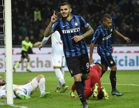 Đại thắng 4-0, Inter dẫn đầu Serie A